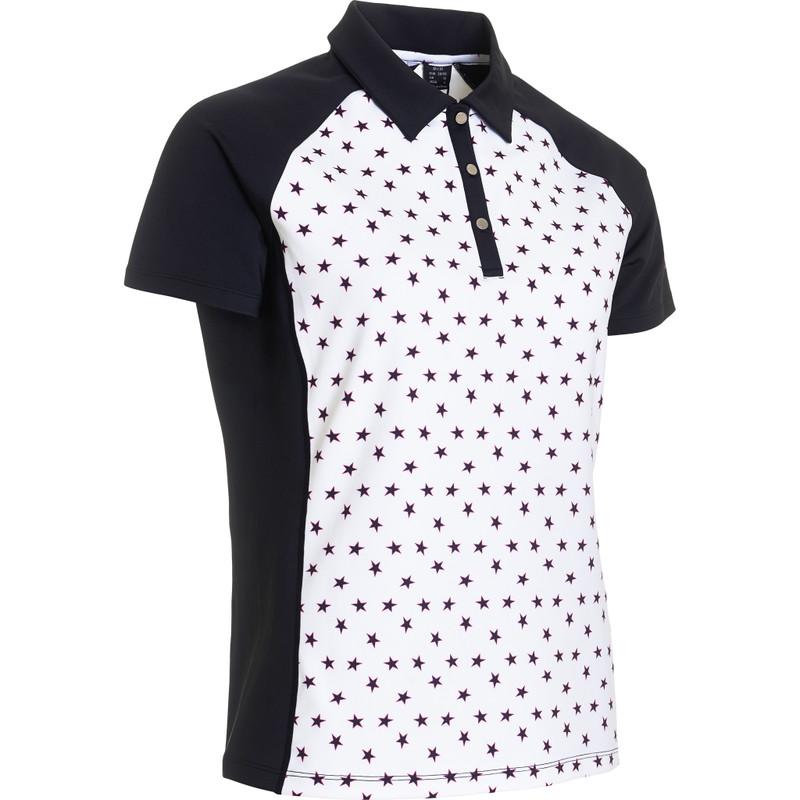 Abacus Emy Short Sleeve Polo - Black Star
