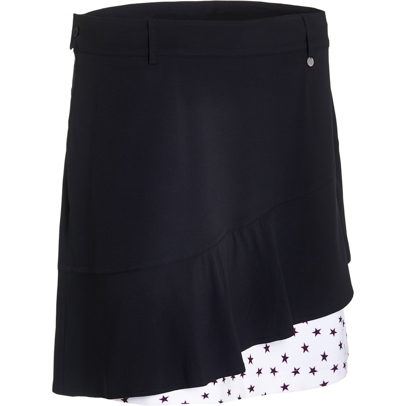 "Abacus Talma 19"" Layer Golf Skort - Black Star"
