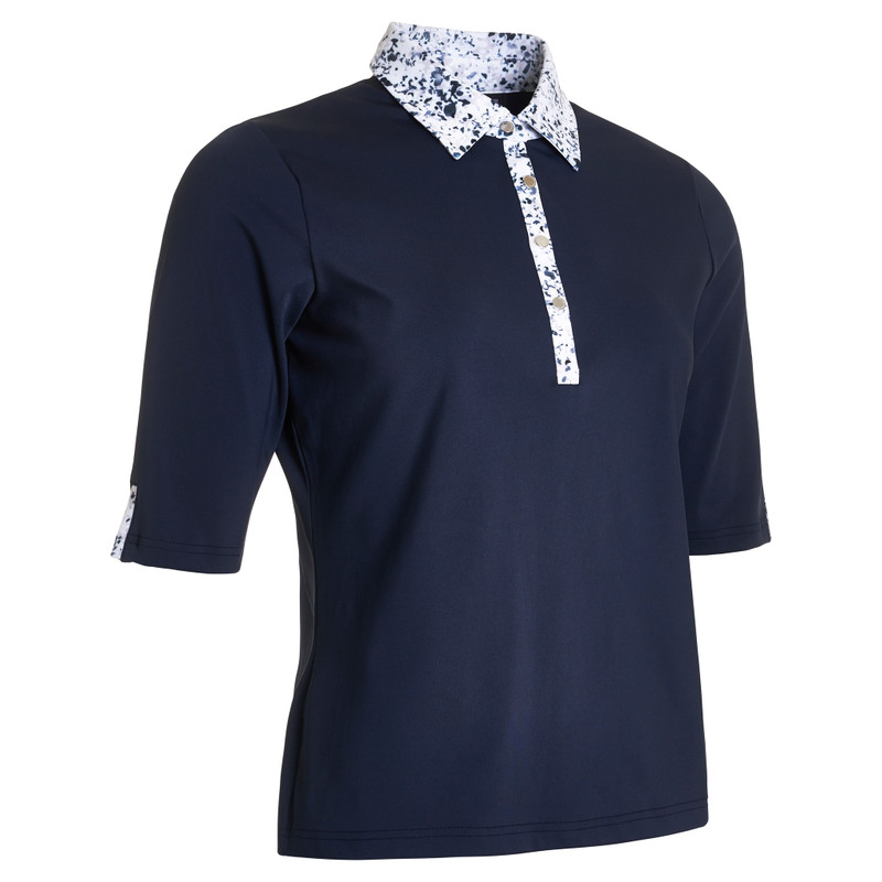 Abacus Emy Half Sleeve Polo - Mixed