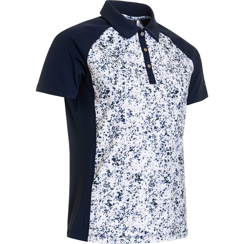 Abacus Emy Short Sleeve Polo - Mixed Navy