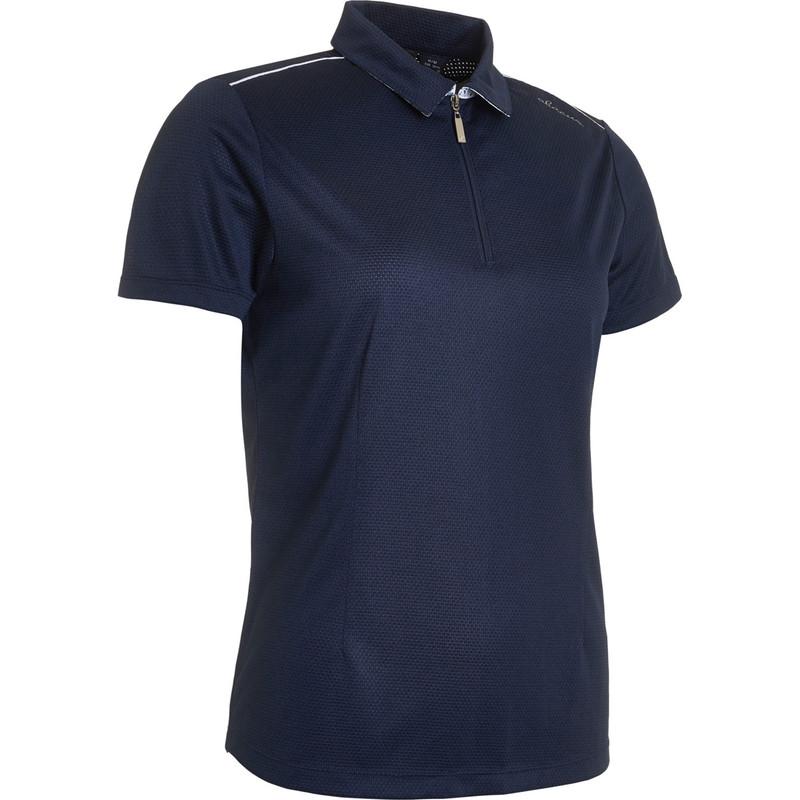 Abacus Vilna Short Sleeve Polo - Navy