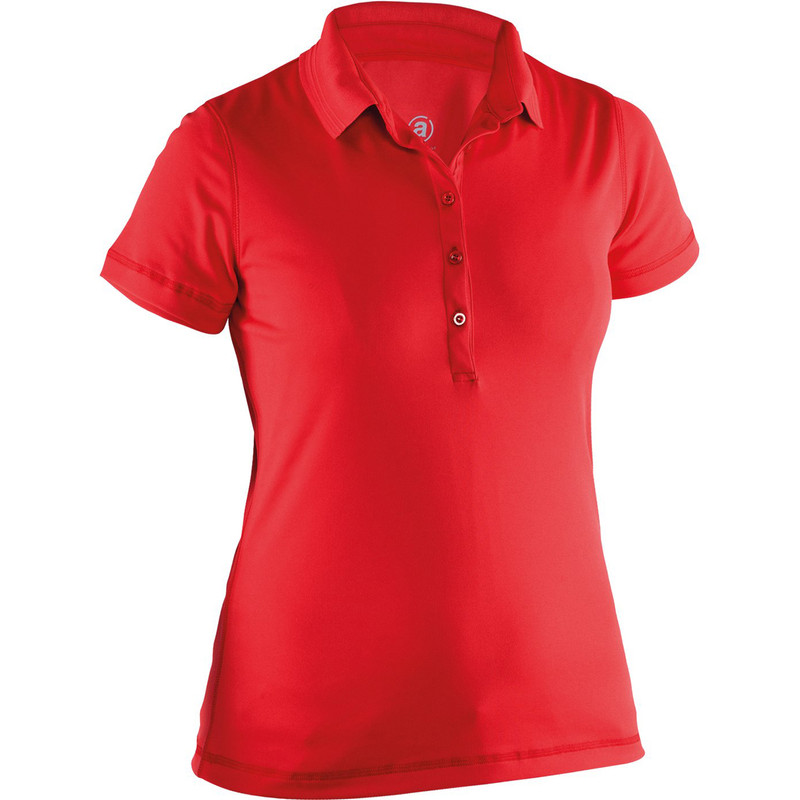 Abacus Clark Short Sleeve Polo - Red