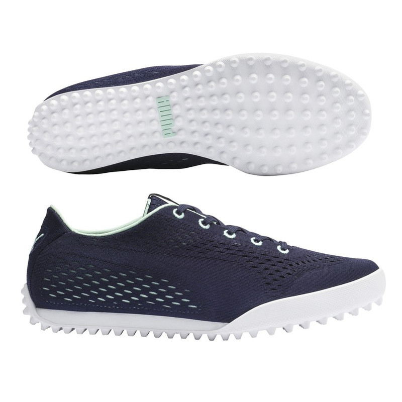 Puma Monolite Cat EM Golf Shoe - Peacoat/Mist