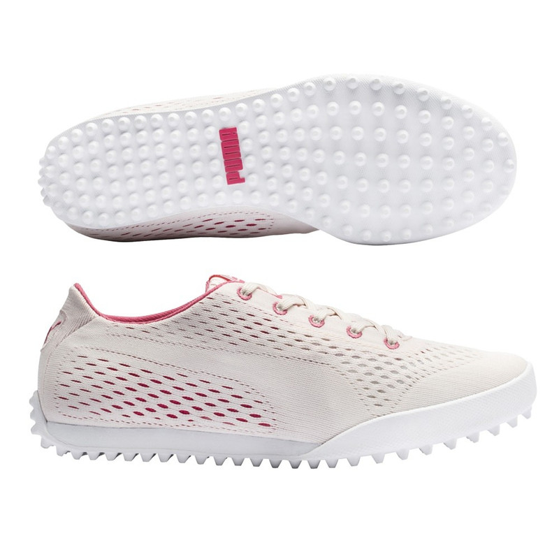 Puma Monolite Cat EM Golf Shoe - Rosewater/Rapture Rose