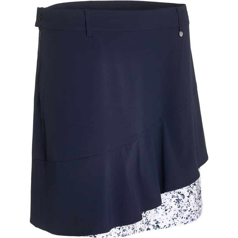 "Abacus Talma 19"" Layer Golf Skort - Mixed Navy"