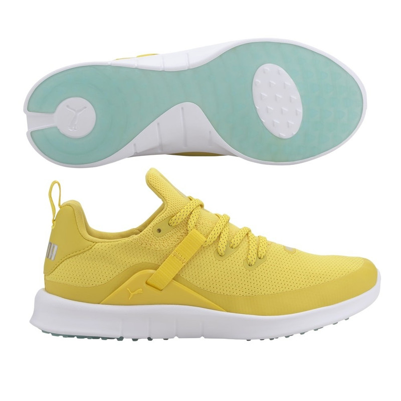 Puma Laguna Fusion Sport Golf Shoe - Super Lemon