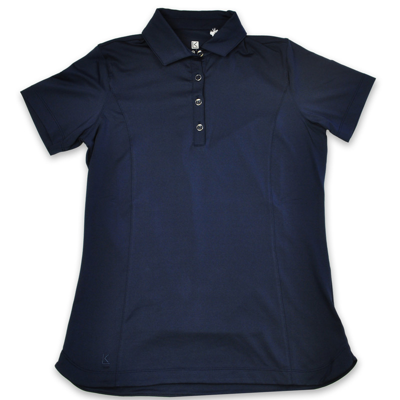 Kate Lord Chelsea Short Sleeve Polo - True Navy