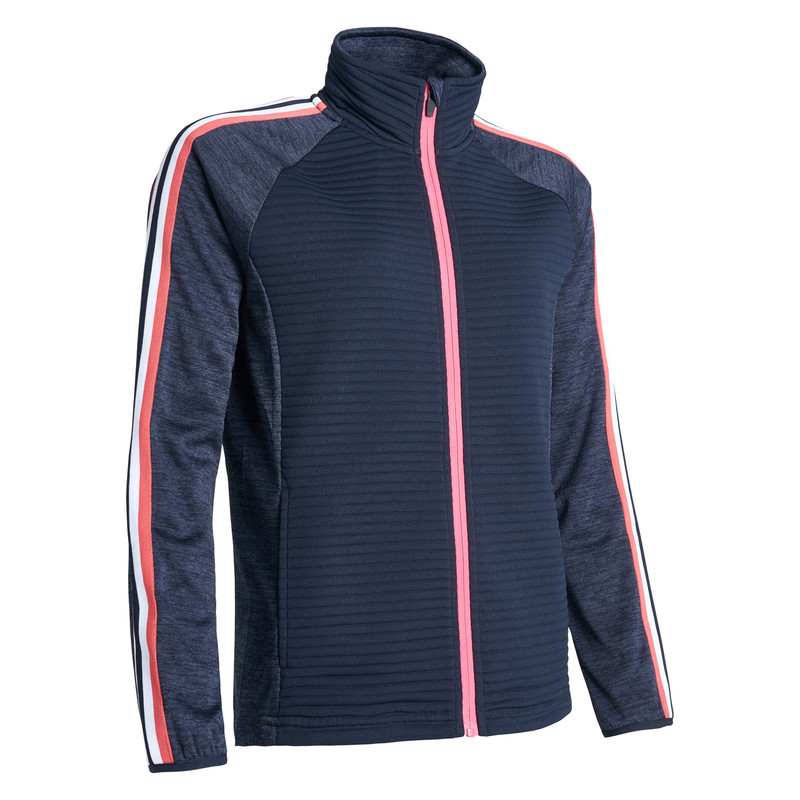 Abacus Turnberry 3D Stripe Jacket - Navy
