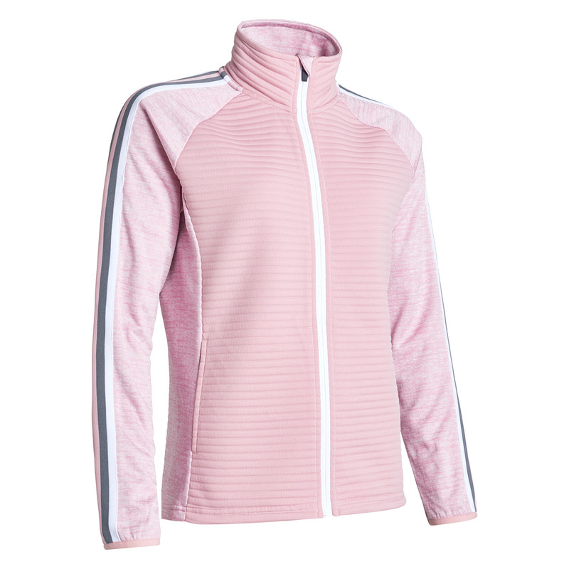 Abacus Turnberry 3D Stripe Jacket - Rosebud