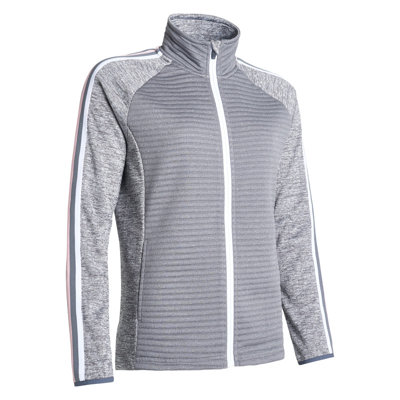 Abacus Turnberry 3D Stripe Jacket - Granite