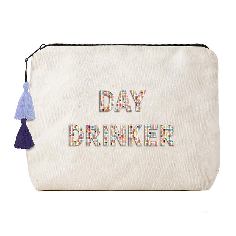 Fallon & Royce Confetti Bead Clutch - Day Drinker
