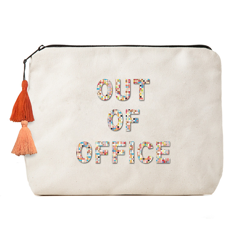 Fallon & Royce Confetti Bead Clutch - Out Of Office