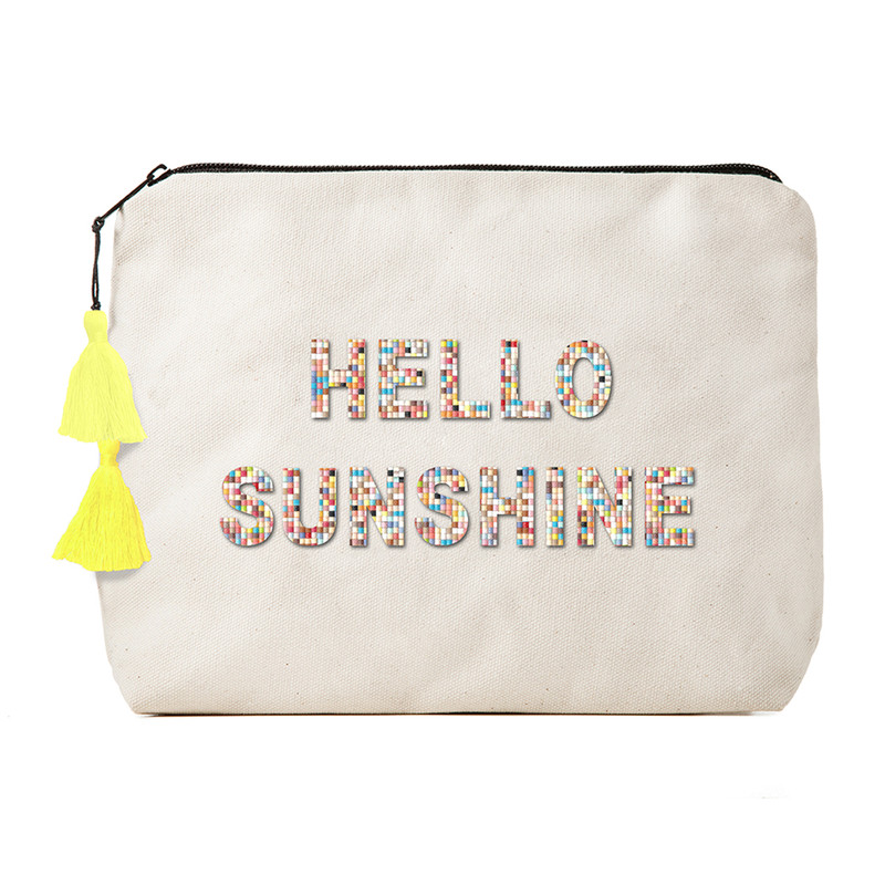 Fallon & Royce Confetti Bead Clutch - Hello Sunshine