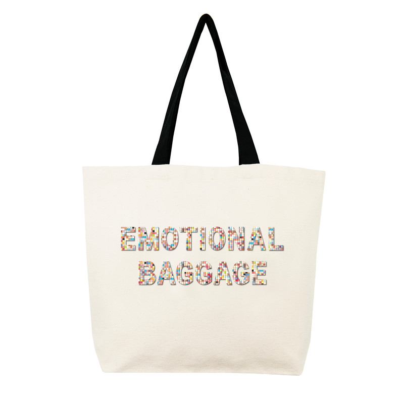 Fallon & Royce Confetti Bead Tote - Emotional Baggage