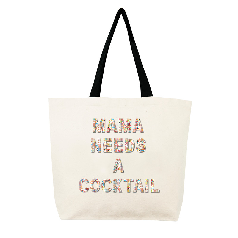 Fallon & Royce Confetti Bead Tote - Mama Needs A Cocktail