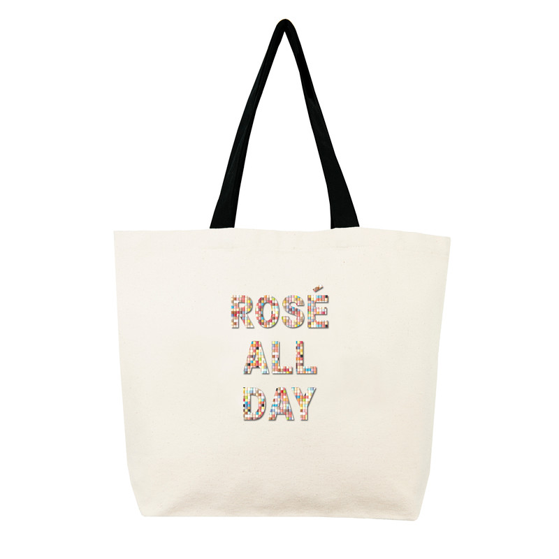 Fallon & Royce Confetti Bead Tote - Rose All Day