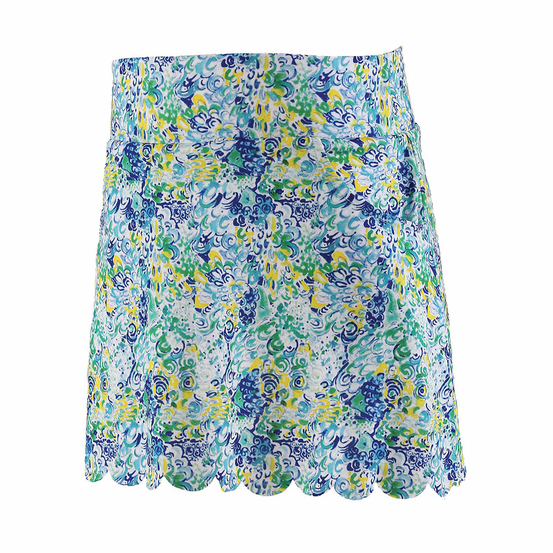 Garb Girls Eve Performance Golf Skort