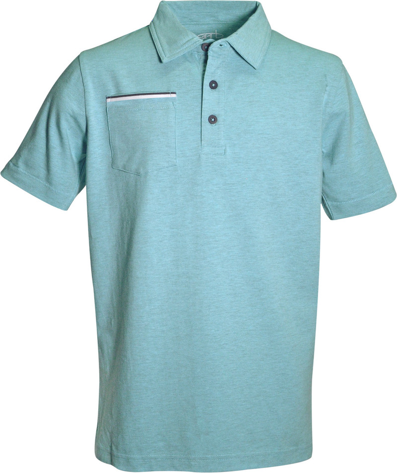 Dean Heathered Blend Polo