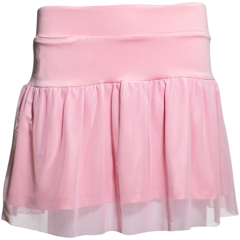 Garb Girls Misty Mesh Golf Skort - Light Pink