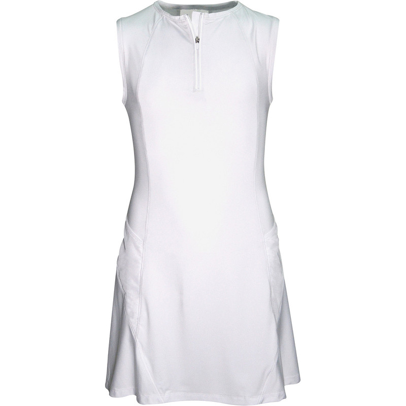 Garb Girls Laurie Golf Dress - White
