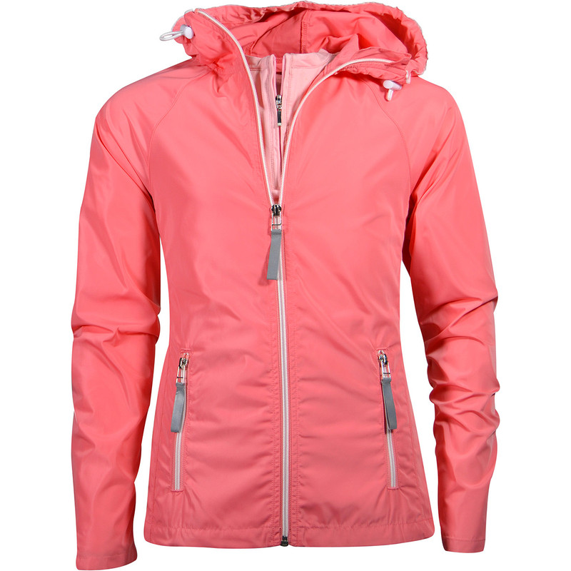 Garb Girls Madison Rain Golf Jacket - Pink