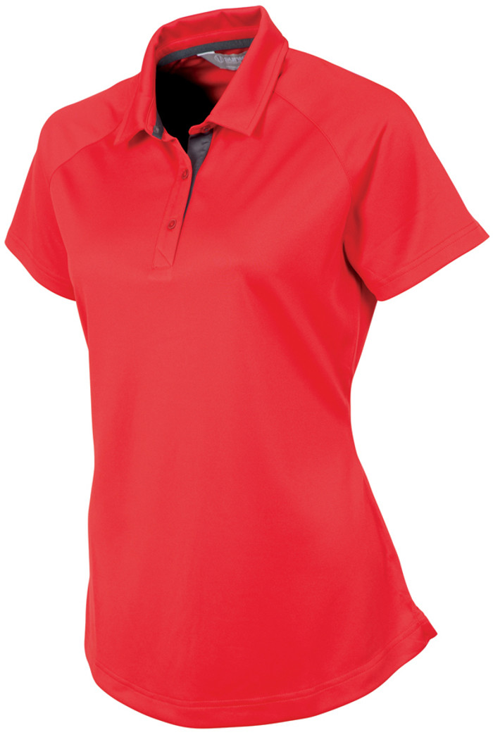 Sunice Jill Coollite Golf Polo - Real Red