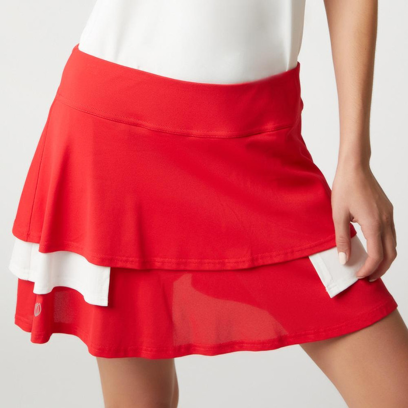 GGblue Court Golf Skort - Estate Red