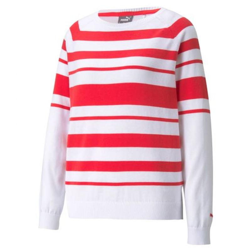 Puma Ribbon Golf Sweater - Teaberry