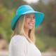 Wallaroo Aqua Packable Hats (5 colors)