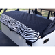 GolfChic Quilted Golf Cart Seat Cover - Black/Zebra