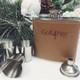 Kirk & Matz Leather Flask Box Set