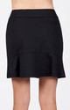 Tail Flounce Golf Skort - Black