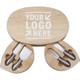 Kirk & Matz Oval Cheese Board & Tool Set