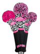 Loudmouth Golf Hybrid Headcover - Savage Flamingo