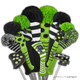 Just4Golf Hybrid Headcover - Small Black/White Dots