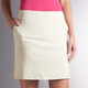 Swing Control Basic Tee Time Skort - Stone