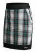 FILA Geneva Plaid Golf Skort - Black/Lake