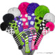 Just4Golf Hybrid Headcover - White/Small Pink Dots