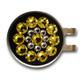 Blingo Ballmarker - Yellow on Black