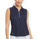 Katy Sleeveless Golf Polo Navy