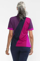 KINONA Back In Action Short Sleeve Top - Eggplant