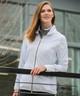 Sunice Blair Packable Wind Jacket (w/ Hood) - White/Golden Glow