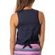 Golftini Sleeveless Sport Stretch Tie Top