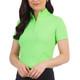 IBKUL Short Sleeve Sun Mock (13 colors)