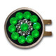 Blingo Neon Green Ballmarker