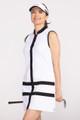 KINONA Putt and Party Sleeveless Golf Dress - White