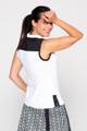 KINONA Sunny Days Sleeveless Golf Top - White