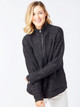 BelynKey Lined Wind Sweater Jacket - Onyx