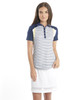 Chase54 Royal Short Sleeve Golf Polo