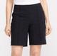 Tailored and Trim Golf Shorts - Black